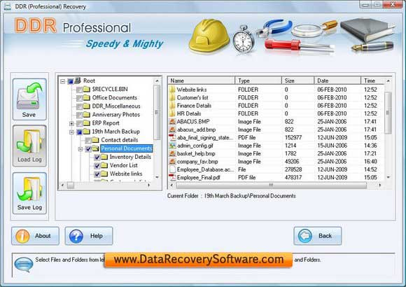 Gelöschte Dateien 4.0.1.6