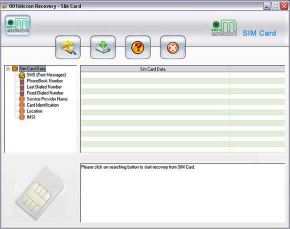Recover Deleted SIM Inbox Messages screenshots