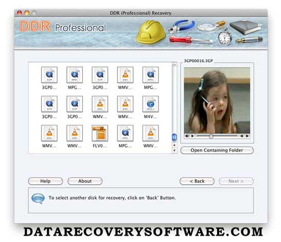 Data recovery tool rescues missing videos