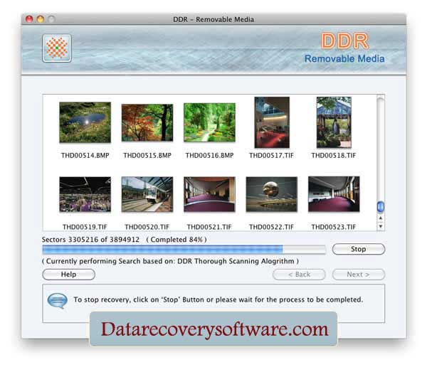 Restore misplaced file by Mac recovery tool