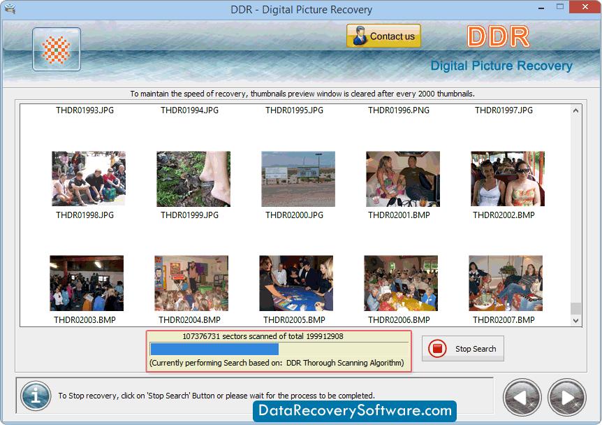 Software restores all digital photographs