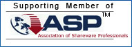 Supporting Member of Association of Shareware Professionals